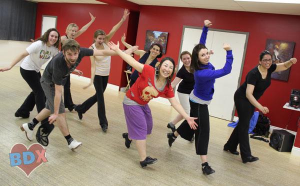 Toronto tap dance class at BDX