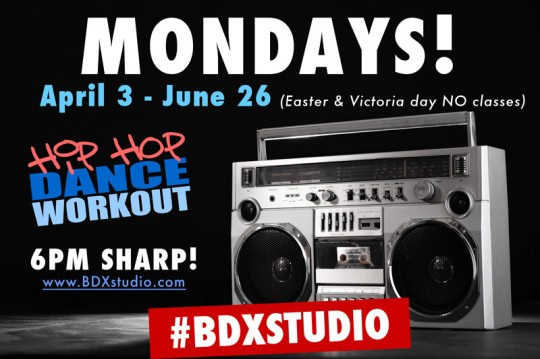 Monday hip hop class Toronto
