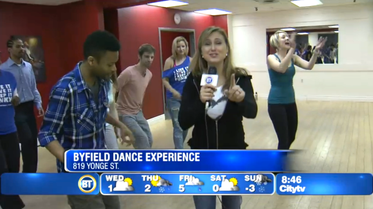 BDX Toronto dance studio featured on Breakfast Televison
