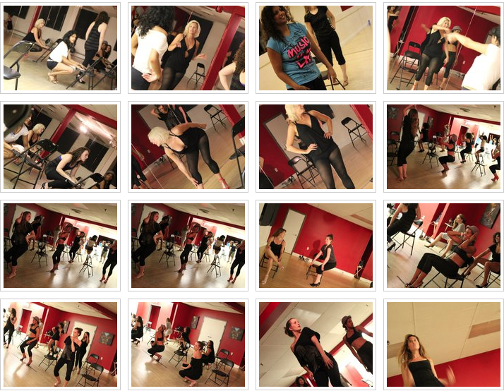 Stiletto dance workshop at Byfield Dance Experience Toronto