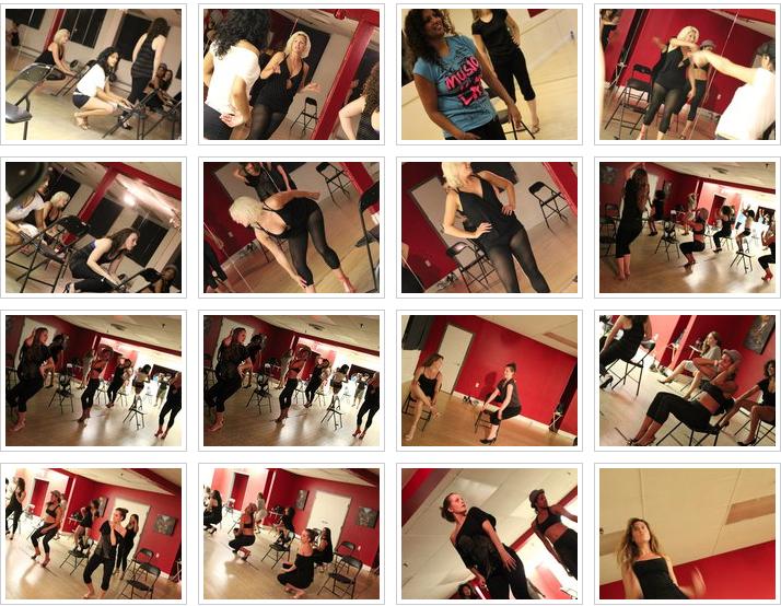Stiletto dance workshop at Byfield Dance Experience Toronto