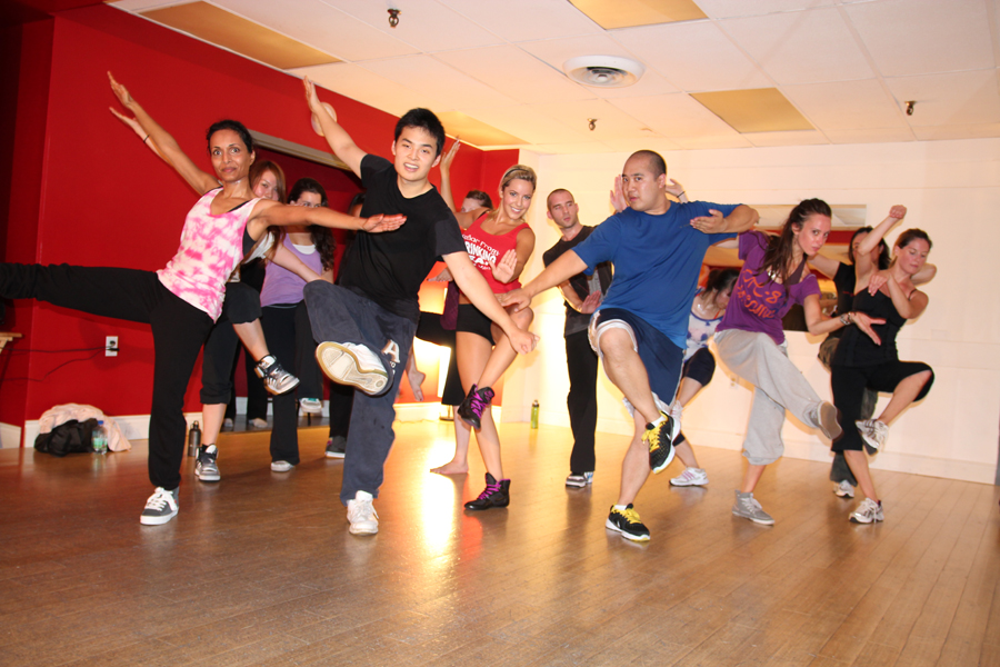 BDX Toronto hip hop dance students