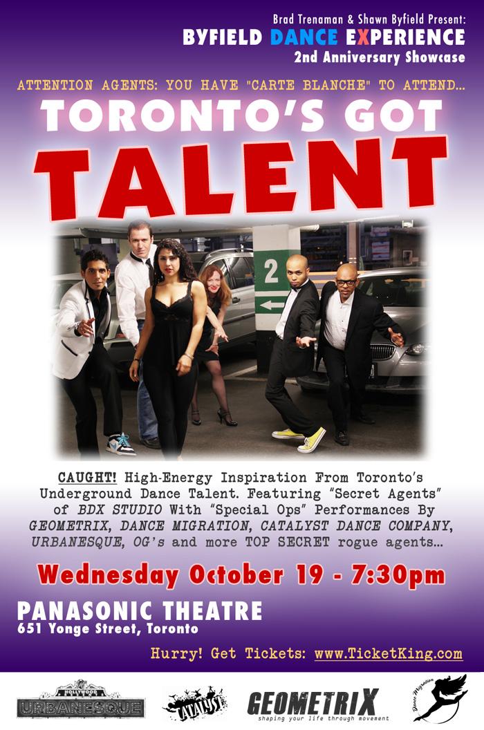 BDX Showcase Toronto's Got Talent