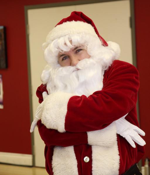 Hip hop Santa Claus at Byfield Dance Experience