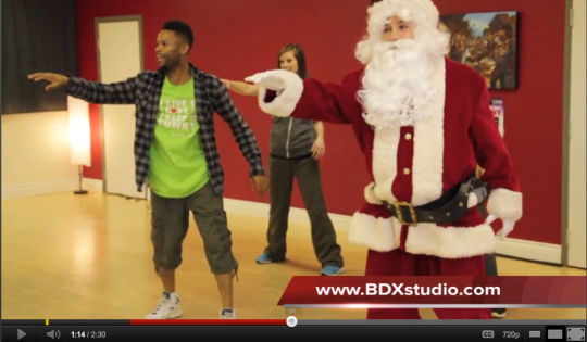 Hip Hop Santa at BDX