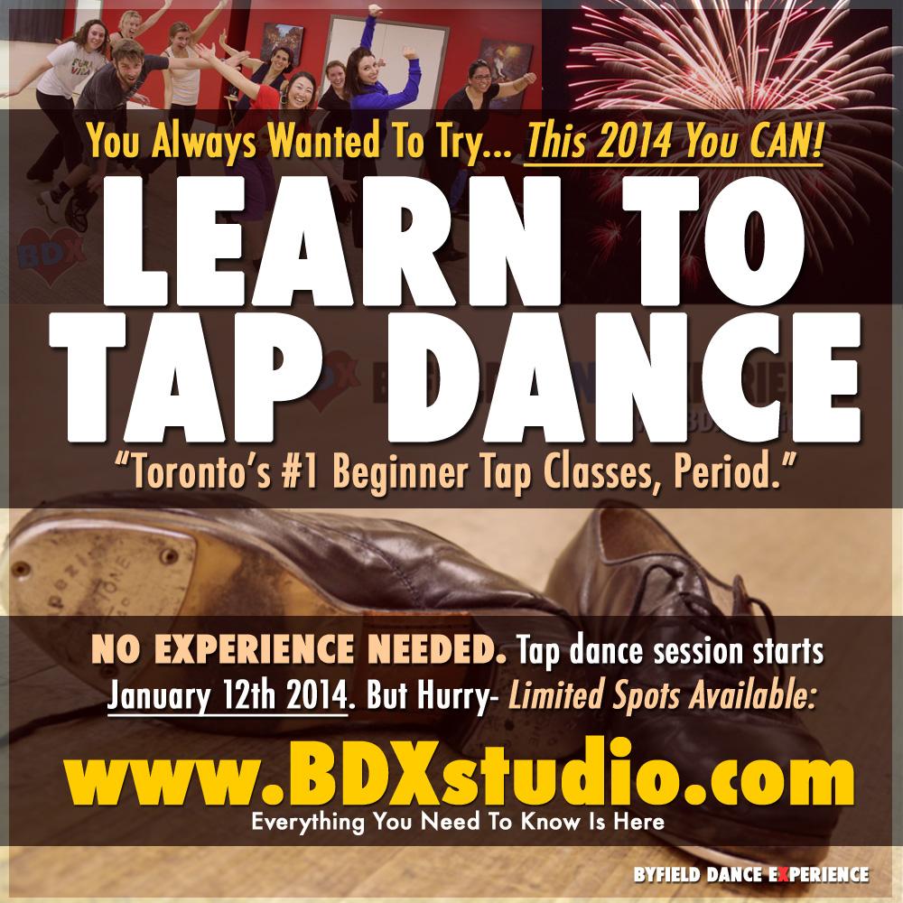 Beginner tap dance Toronto 2014