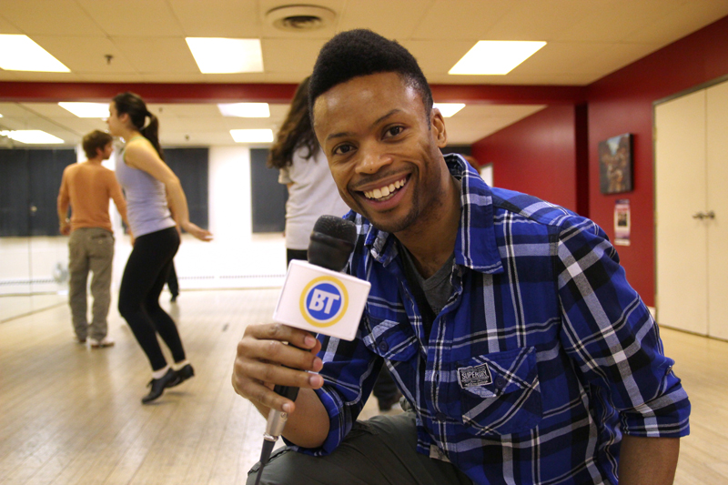 Shawn Byfield at Byfield Dance Experience