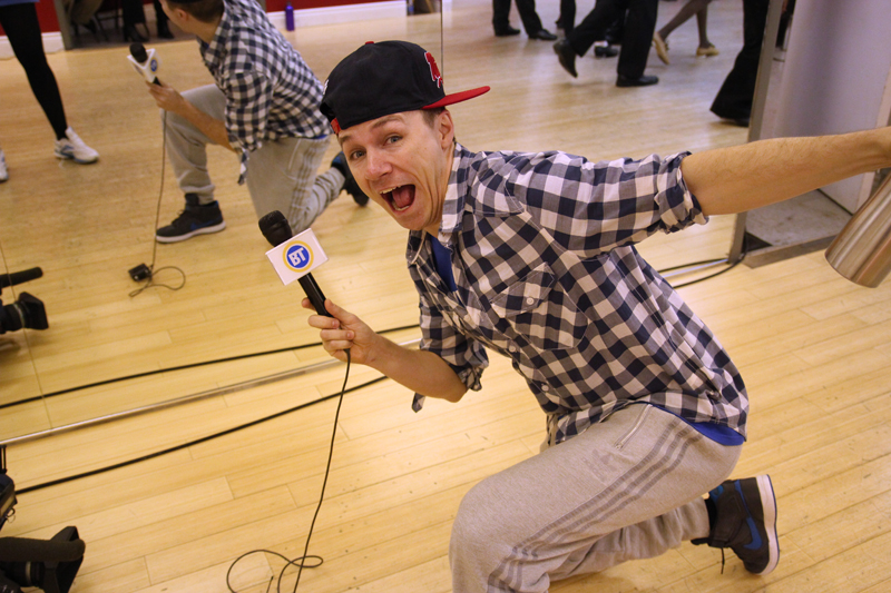 Dustin Pym at Byfield Dance Experience
