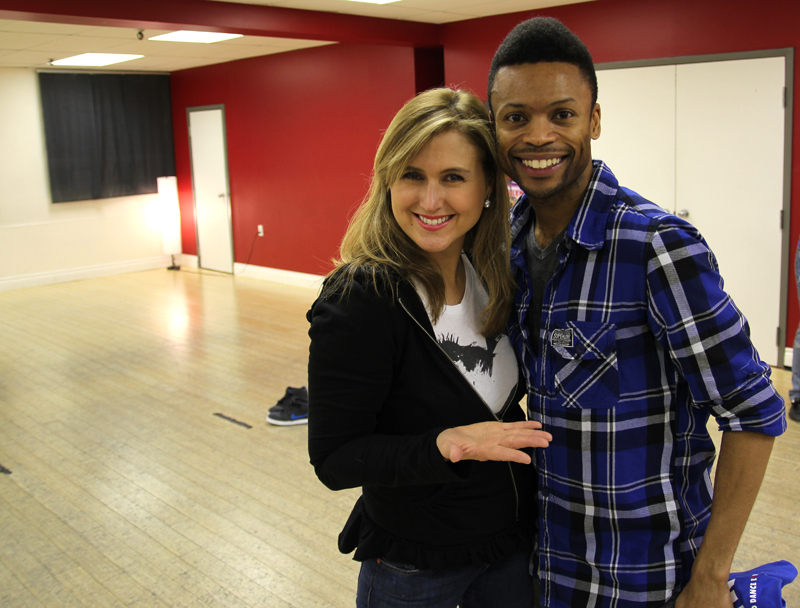 Shawn Byfield and Jennifer Valentyne at Byfield Dance Experience