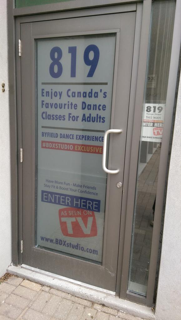 Toronto dance class for adults