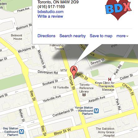 BDX adult dance studio Toronto