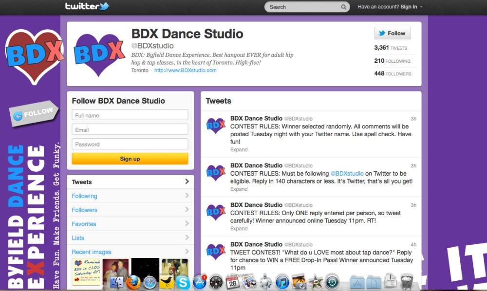 Toronto Dance Studio Byfield Dance Experience on Twitter