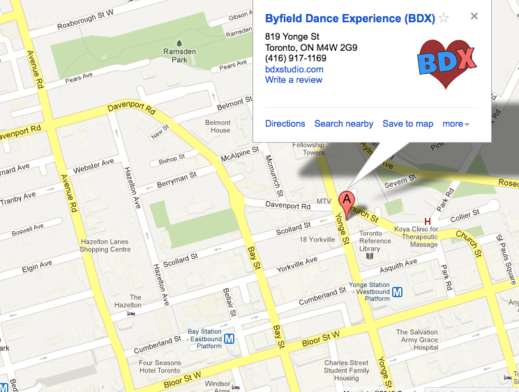 Toronto Dance Studio Byfield Dance Experience, Best Dance School For Adults