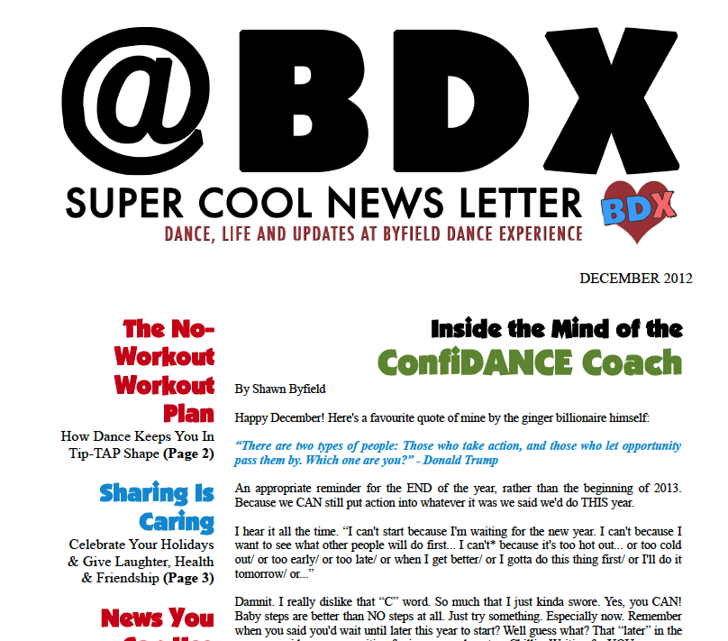 Toronto dance studio BDX