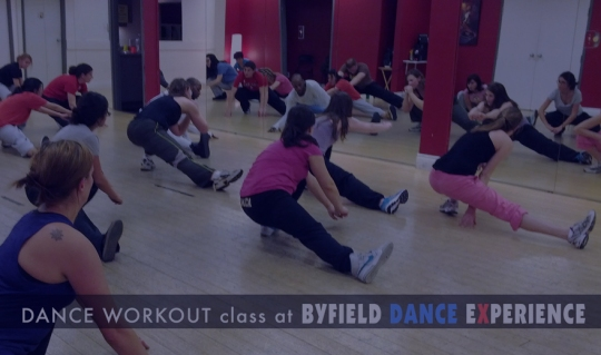 Toronto dance workout exercise class