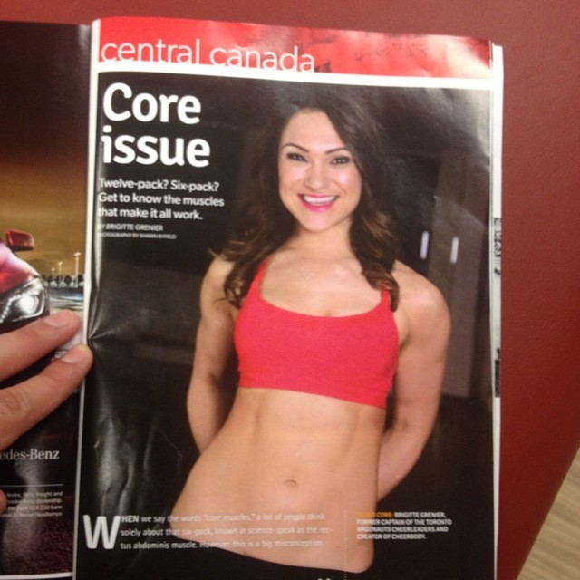 Fitness Expert Brigitte Grenier & CheerBody featured in Optimyz Magazine