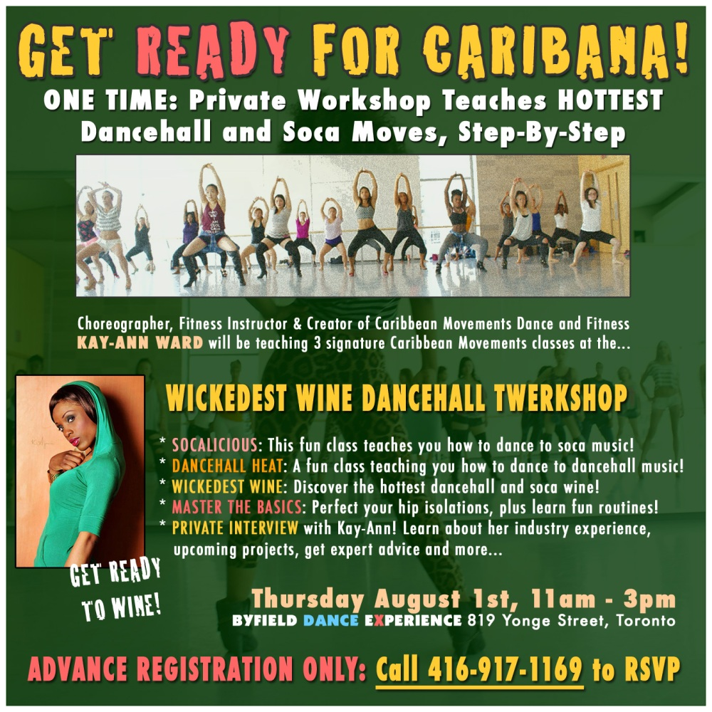 Toronto Caribana dance workshop