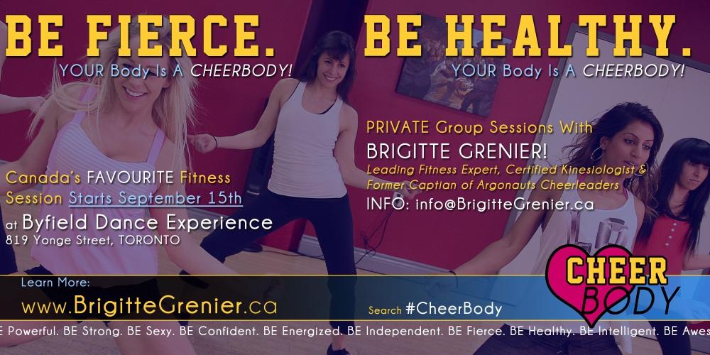 Cheerbody Toronto exercise