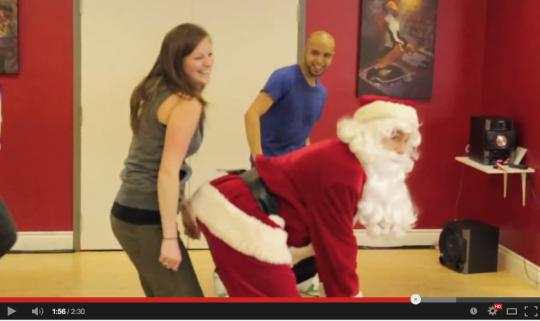 hip hop Santa at BDX