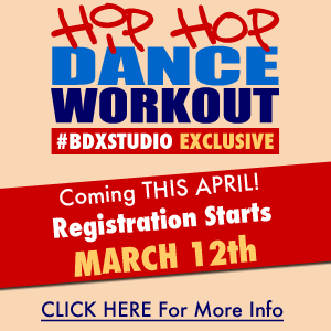 Register For HIPHOP DANCE WORKOUT