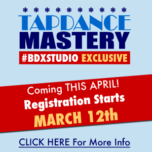 Register For TAPDANCE MASTERY