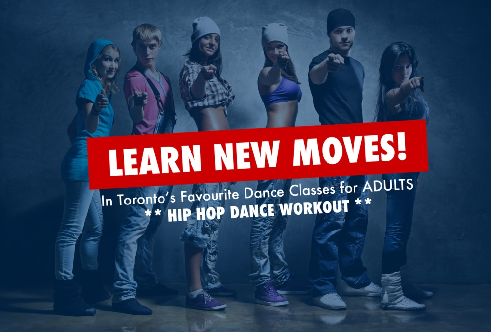 Toronto's favourite hip hop dance workout class.